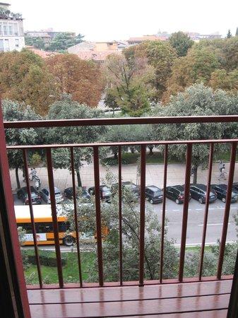 Hotel Verona: Panorama dal terrazzino