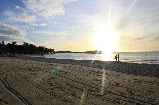 Chaweng Buri Resort: Sonnenaufgang
