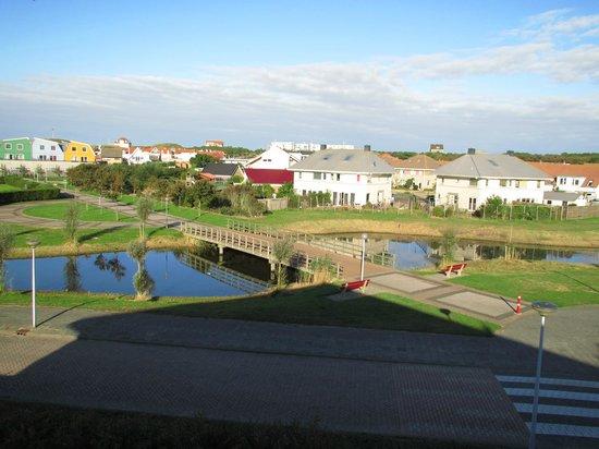 Hotel Greenside: Uitzicht kamer