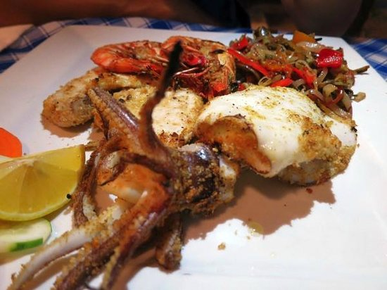 Ristorante Angelina : Mix seafood grill