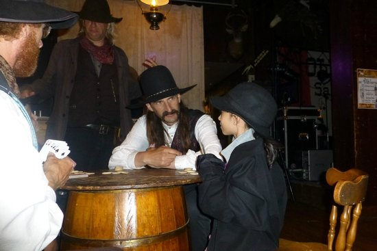 Saloon #10 American Whiskey Bar : Wild Bill Hickok and my daughter