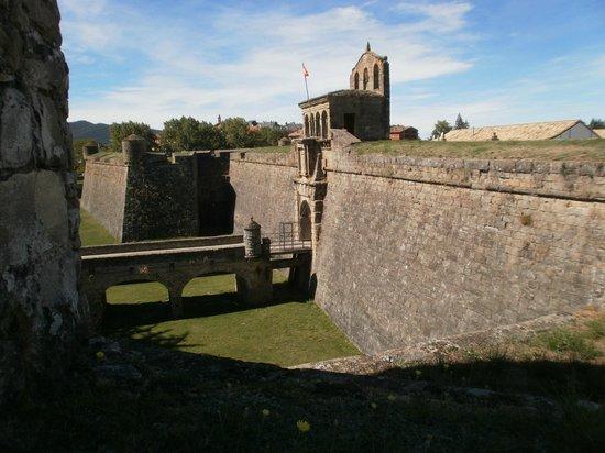 Ciudadela de Jaca: ENTRADA