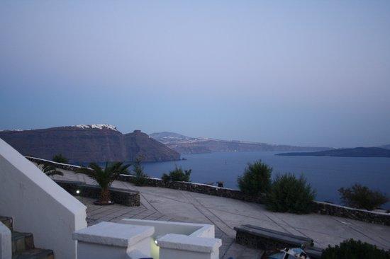 Hotel Atlantida Villas: View from apartment