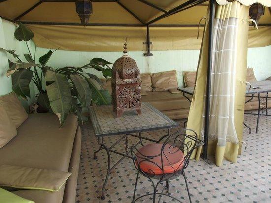Dar Iman: terrace
