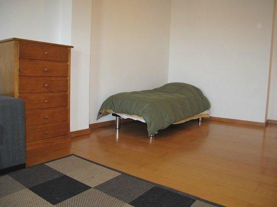 Wazores: Cama extra na sala de estar