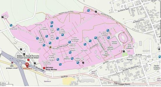Fittacamere Villa Flora: villa flora map