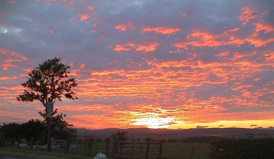 Easter Glentore Farm: Sunset