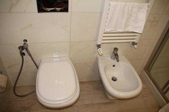 Hotel Central Park: ванная