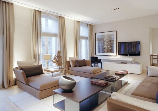 La Reserve Apartments Paris  R serve Trocad ro living room Picture of
