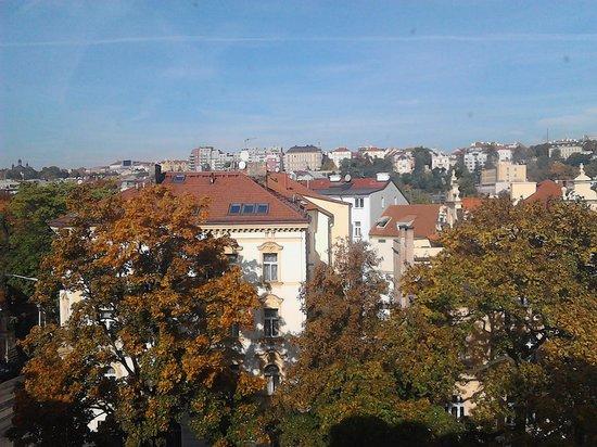 Hotel Otakar: вид из окна