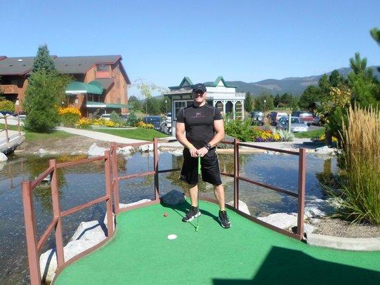 Stoneridge Resort: Minature golf.