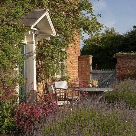 Stamford Hall Farmhouse: Front Door from Garden