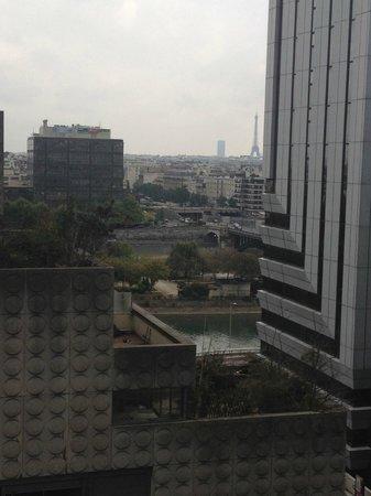 Citadines La Defense Paris: Utsikten fra rom 803