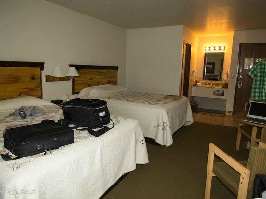 Yellowstone Village Inn : unser Zimmer