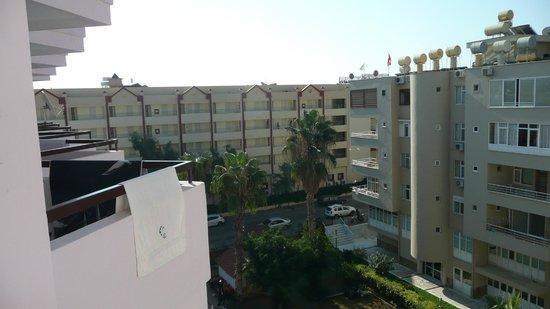 Grand Atilla Hotel: View from 501