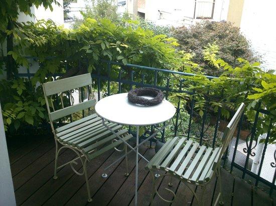Cote Parc: balcony