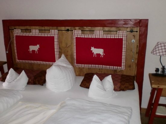 Hotel Tanneck: Tolles gemütliches Bett