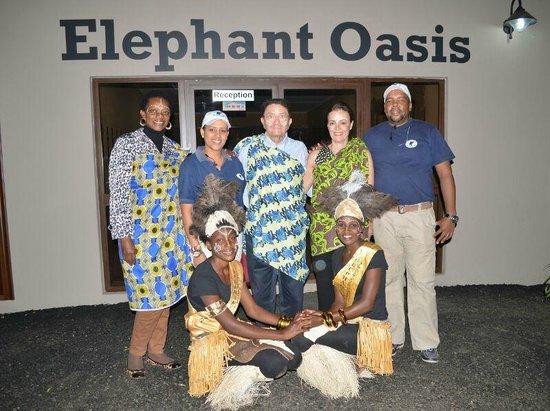 Elephant Oasis Bush Dinners Minister Of Tourismart Culture Slyvia Masebo