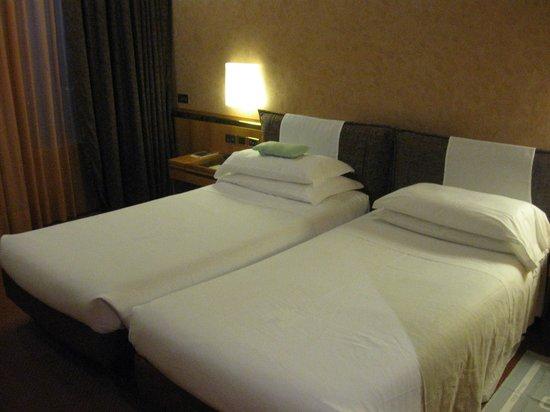 Michelangelo Hotel: en la noche te preparan la cama