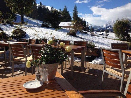 Romantik Hotel Hornberg: Im Oktober schon weiss