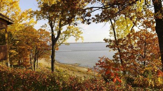 Auberge du Lac Saint-Pierre: quelle vue imprenable
