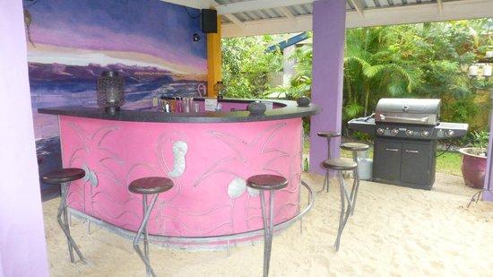 Pink Flamingo : Bar de la piscine