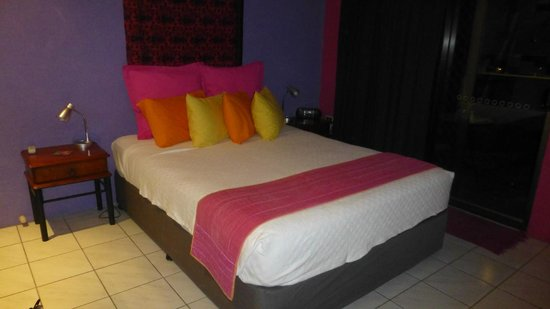Pink Flamingo : Chambre