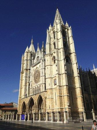 Infantas de Leon Hotel: Cattedrale