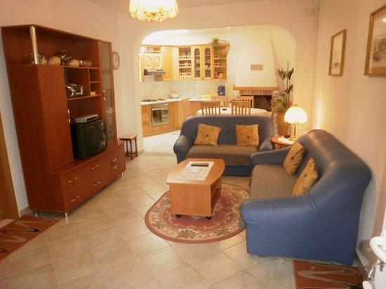 Apartments Balic: Wohnzimmer im Apartment Nr. 3