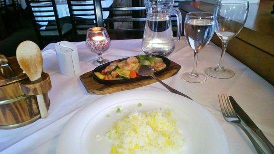 Royal Park Restaurant: King prawn,Ginger&Spring onion