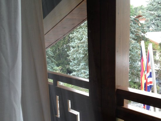 Hotel Residence SantAnton: balcone camera