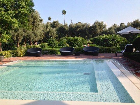 La Mamounia Marrakech: Kid's splash pool