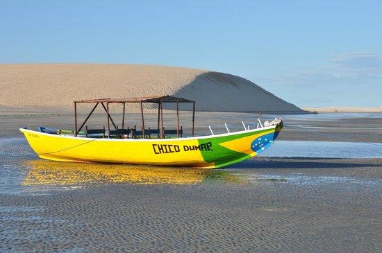 Jericoacoara Beach: Plage et la dune de Jéricoacoara le matin (07/2013)