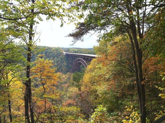New River Gorge Bridge: Beautiful fall day