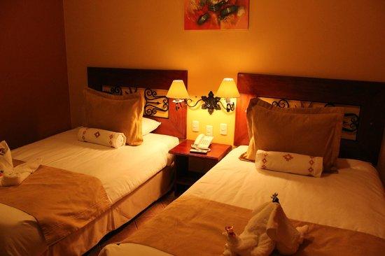 Imperio Machupicchu Hotel: O quarto (são 2 camas e não 1 de casal)