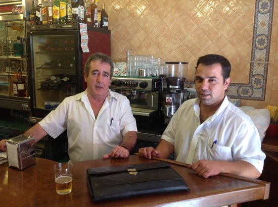 Cafe-Bar Altozano de Triana : mis amigos