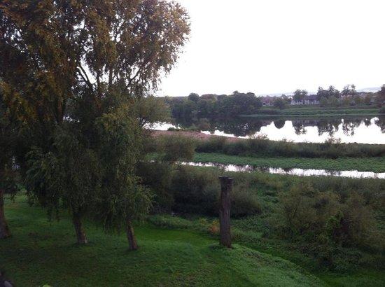Mercure Nevers Pont de Loire: View from a river view room