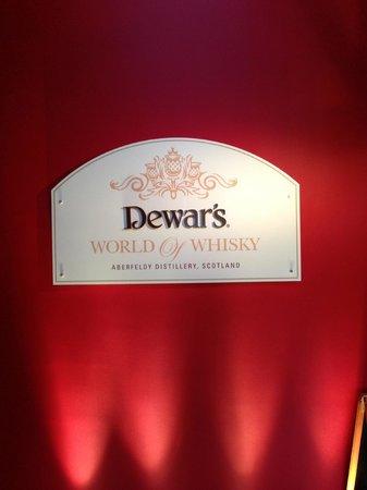Dewar's Aberfeldy Distillery: Dewar's e il suo logo
