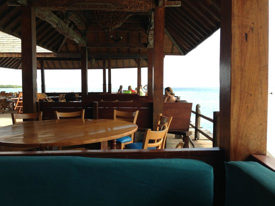 Basil's Bar - Mustique: On the water
