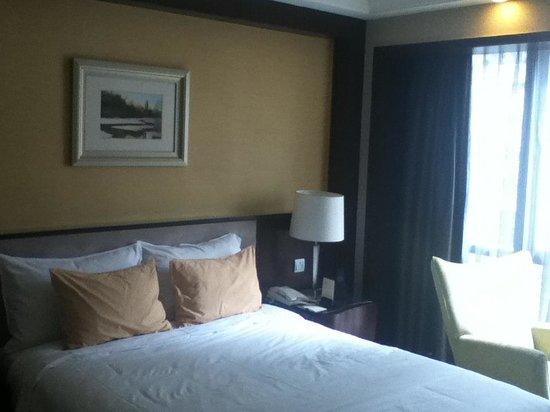 Leeden Hotel: Our king bedroom