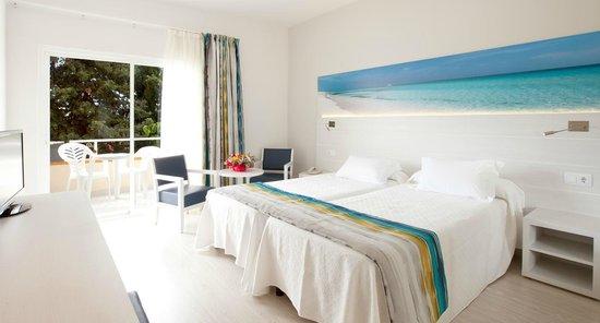 hotel seramar sunna park habitacin doble estndar decoracin marina