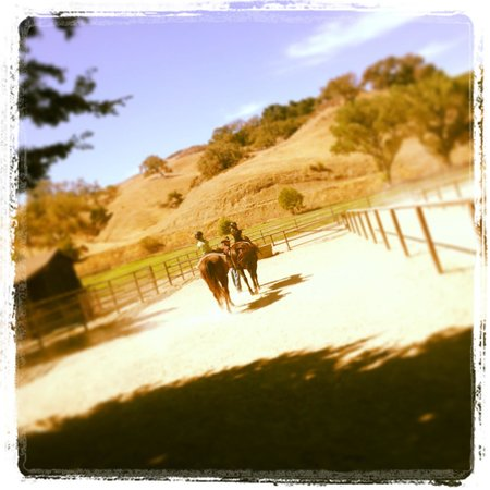 Alisal Guest Ranch & Resort : Riding lesson