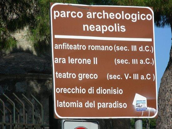 Latomia del Paradiso: parco archeologico neapolis
