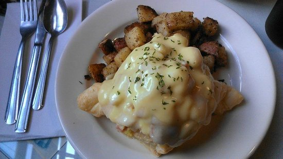 Cornerstone Cafe: Parisian Eggs
