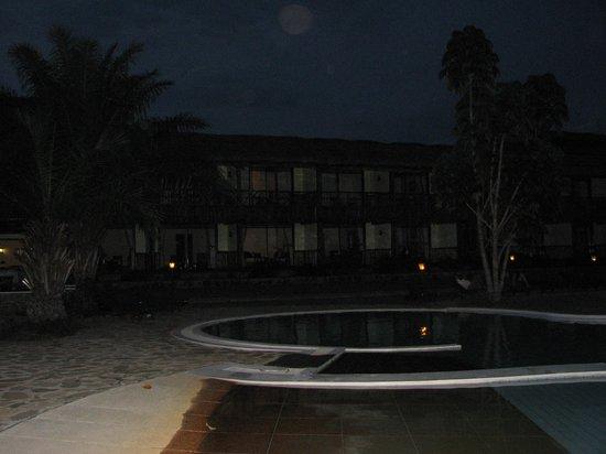 Paraa Safari Lodge: quiet at night