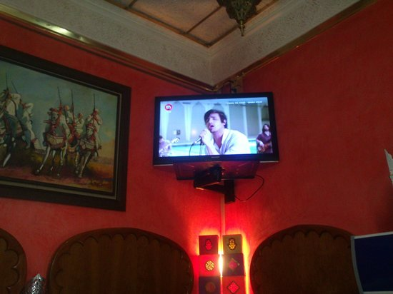 Cafe de Tanger: particolare della sala