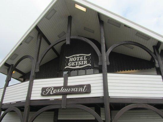 Hotel Geysir: Geysir hotel