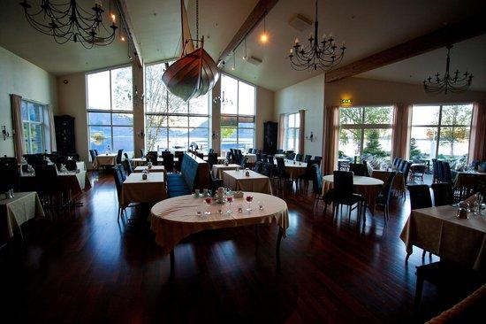 Rosendal Fjordhotel: The restaurant