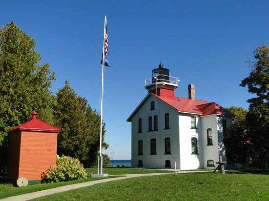 Grand Traverse Lighthouse Museum: Grand Traverse LH