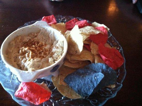 Waterman's Surfside Grille : Crab dip!